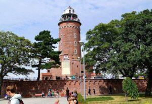 latarnia morska Kołobrzeg atrakcje turystyczne