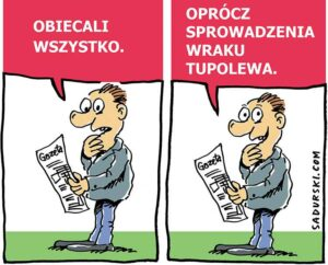 satyra polityczna rysunek satyryczny