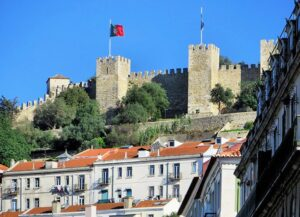 city break zamek świętego-Jerzego Lizbona Portugalia atrakcje